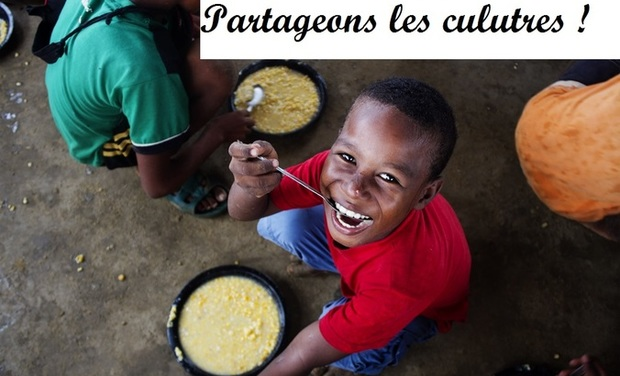 Visueel van project Partageons les cultures.