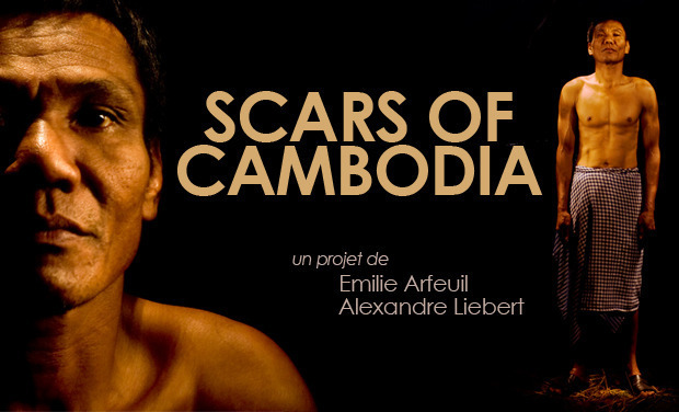 Visueel van project SCARS OF CAMBODIA
