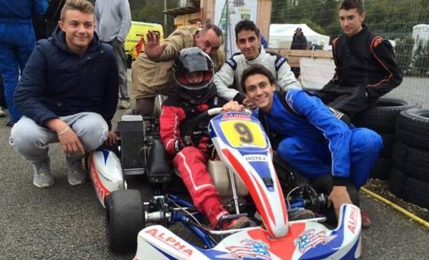 Visuel du projet Aide Equipe Amateur Karting