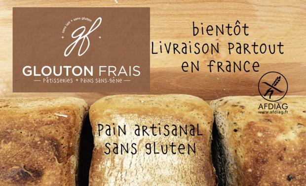 Visuel du projet Glouton Frais, boulangerie patisserie Toulousaine sans Gluten ET sans produits laitiers