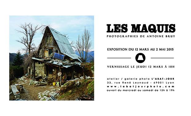 Visuel du projet Les Maquis / exposition photo de Antoine Bruy à l'Abat-Jour