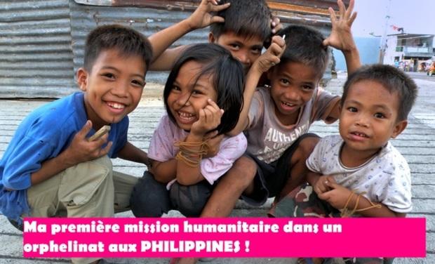 Visuel du projet Ma première mission humanitaire dans un orphelinat aux Philippines