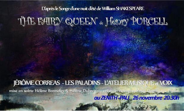 Visueel van project The Fairy Queen : semi-opéra de Henry Purcell