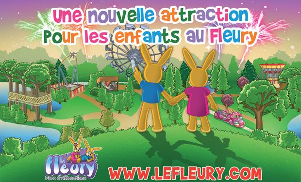 Project visual Une nouvelle attraction pour le parc le Fleury