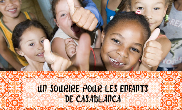 Visuel du projet Un sourire pour les enfants malades de Casablanca
