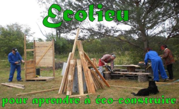 Project visual Eco-lieu pour aprendre à éco-construire