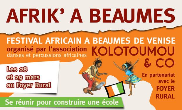 Visuel du projet FESTIVAL AFRIK' A BEAUMES