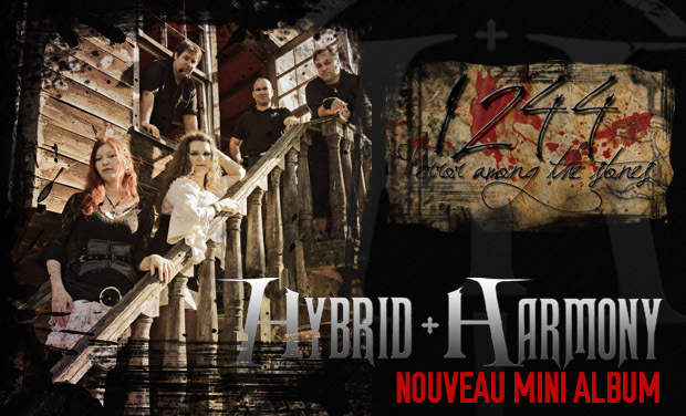 Project visual 1244 - Nouveau mini album d'Hybrid Harmony