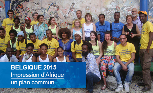 Project visual Impression d'Afrique - Belgique 2015