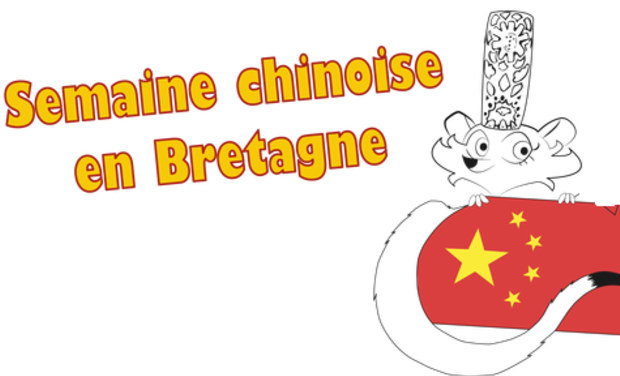 Project visual Semaine chinoise en Bretagne