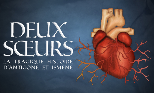 Visuel du projet DEUX SOEURS ou la tragique histoire d'Antigone et Ismène