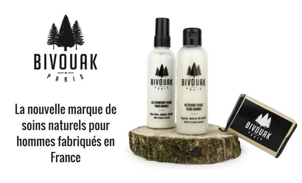 21bd5917b8dd5 Visuel du projet Bivouak   la nouvelle marque de soins naturels pour hommes  fabriqués en France