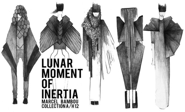 Visueel van project MARCEL BAMBOU - LUNAR MOMENT OF INERTIA