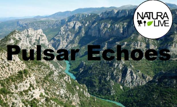 Visuel du projet Enregistrement Studio filmé de Pulsar Echoes au cœur des Gorges du Verdon .