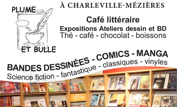 Visuel du projet Création du Café-librairie Plume et Bulle