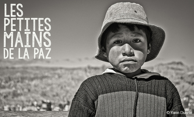 Project visual Les petites mains de La Paz