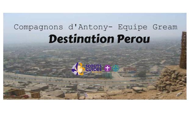 Visuel du projet Destination Pérou - Equipe Gream- Compagnons d'Antony