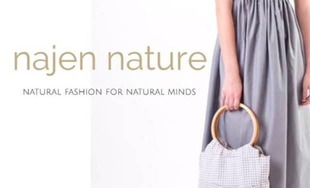 Visuel du projet najen nature, mode écolo et solidaire