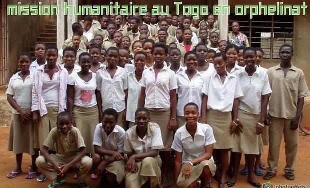 Visuel du projet voyage humanitaire au Togo