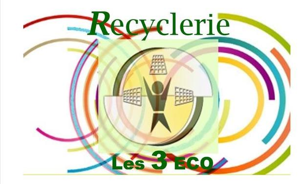 Project visual RECYCLERIE LES 3 ECO