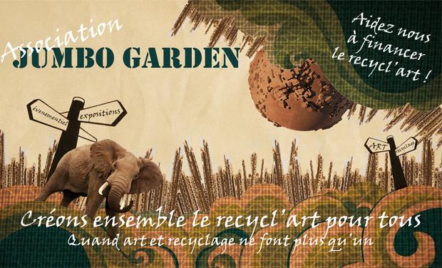 Visueel van project Aidez nous à financer le recycl'art pour tous avec l'association JUMBO GARDEN !