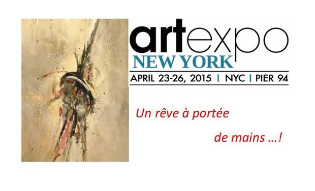 Visueel van project ART EXPO NEW-YORK.... un rêve !