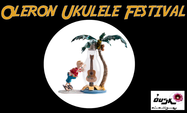 Project visual Oleron Ukulele Festival
