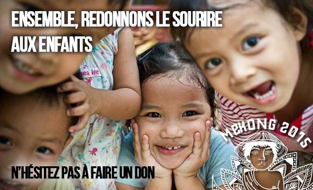 Visuel du projet Donnons le sourire aux enfants de Mékong!
