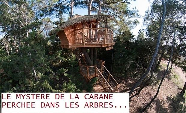 Visuel du projet Le mystère de la cabane perchée dans les arbres