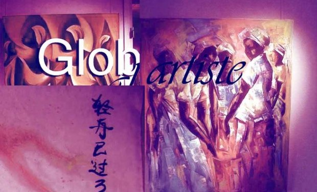 Visueel van project Glob artiste