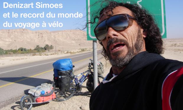 Visuel du projet Denizart Simoes et le record du monde du voyage à vélo