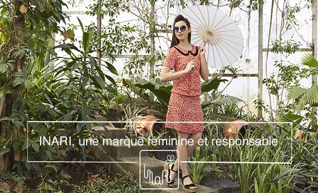 Visuel du projet INARI - Marque responsable et féminine