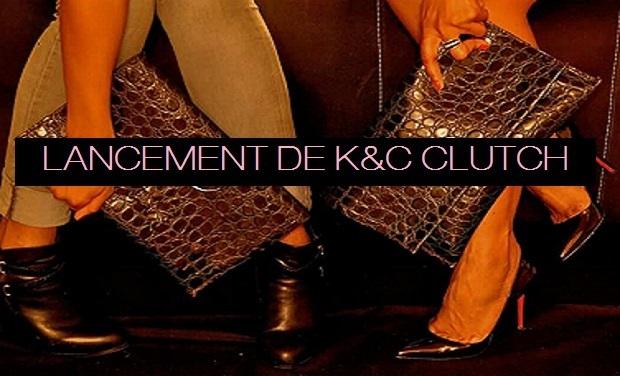 """Visueel van project Lancement de """" K&C CLUTCH """" Les pochettes en cuir , fabriquées avec Amour en France!!"""