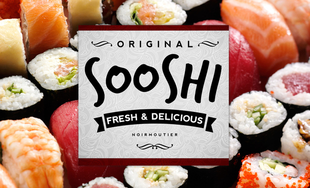 Project visual SOOSHI ! Food Truck Japonais à Noirmoutier