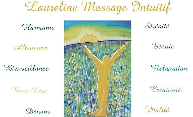Visuel du projet Laureline Massage Intuitif