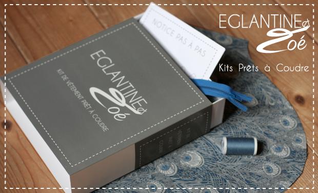 Visuel du projet Eglantine et Zoé, Kits de vêtements Prêts à Coudre