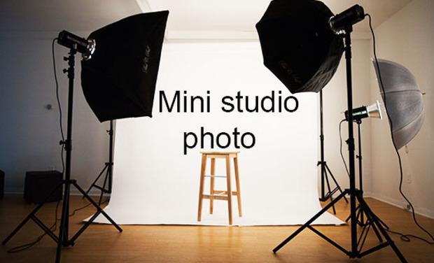 Visuel du projet Mini studio photo