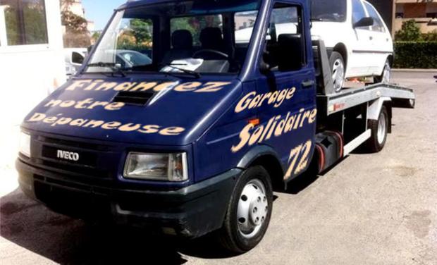 Visuel du projet Une dépaneuse pour le Garage Solidaire 72