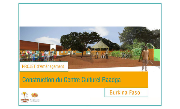 Visuel du projet Construction centre culturel Raadga
