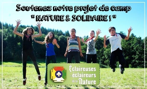 Visuel du projet Soutenez notre projet de camp nature et solidaire !