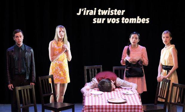 Visuel du projet J'irai twister sur vos tombes // Vaudeville Yéyé