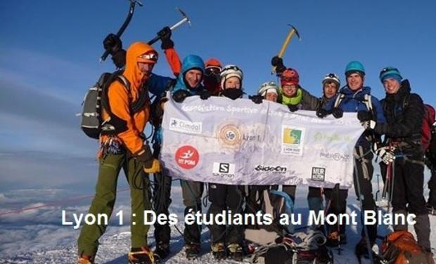 Visuel du projet Lyon 1 : des étudiants au Mont Blanc !