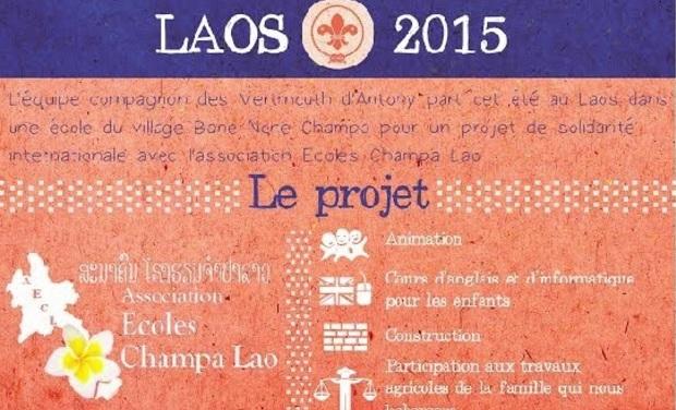 Visuel du projet Projet de solidarité au Laos