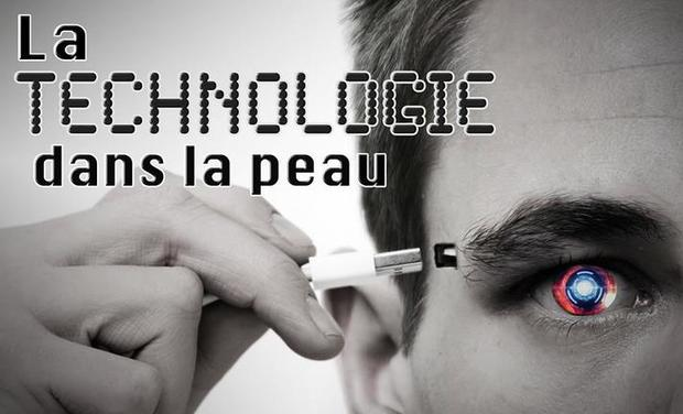 Project visual La technologie dans la peau
