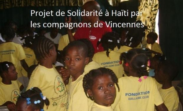 Project visual Projet de Solidarité à Haïti avec les compagnons de Vincennes