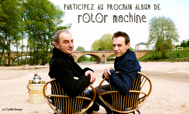 Visuel du projet Rotor Machine - nouvel album