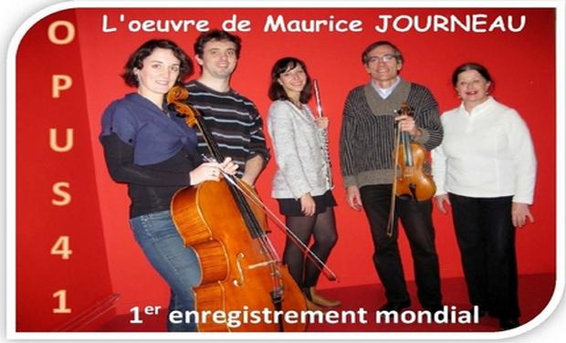 Visuel du projet L'oeuvre de Maurice Journeau en 1er enregistrement mondial