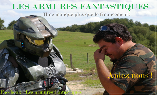 Visuel du projet Creation D'Armures Science Fiction