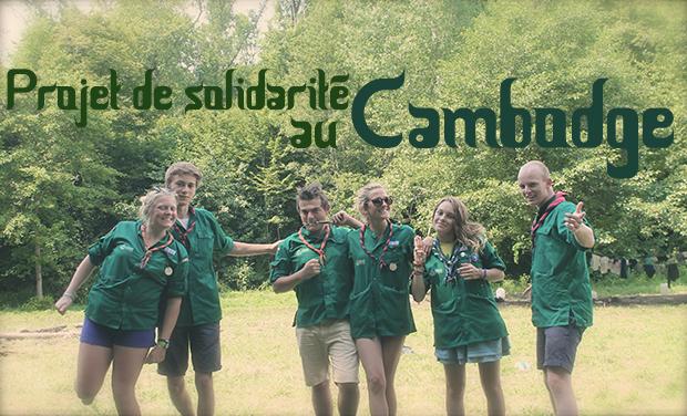 Visuel du projet Projet de solidarité scout au Cambodge