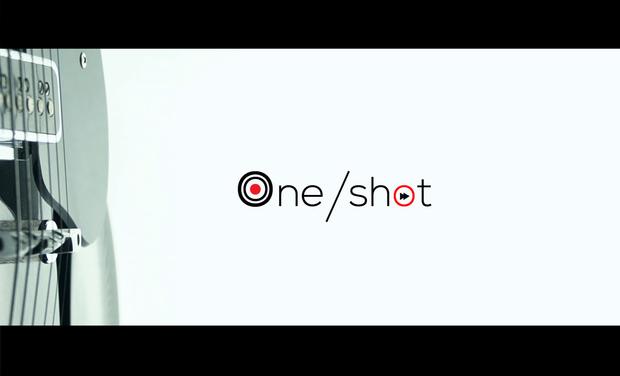 """Visuel du projet """"One-Shot"""" - 1 Clip, 1 Titre en Studio !"""